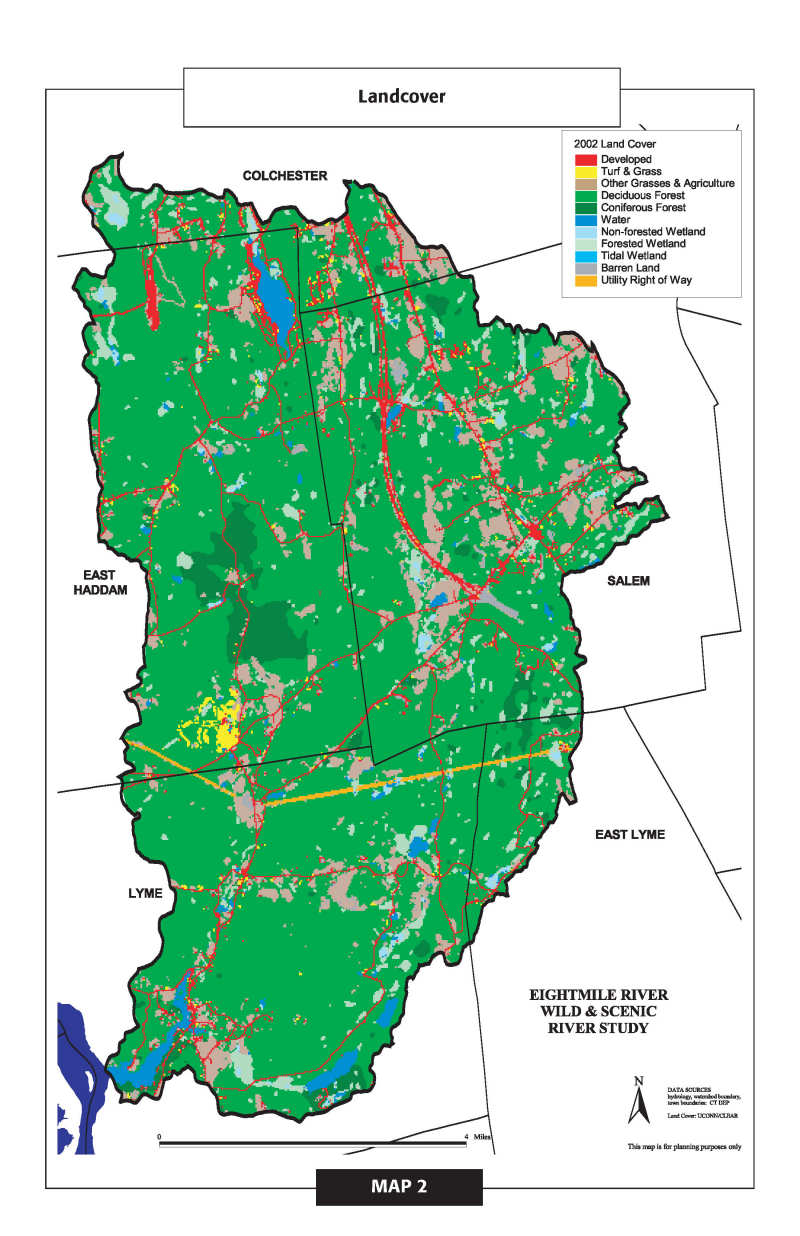 Maps eightmile river wild scenic watershed map gumiabroncs Image collections